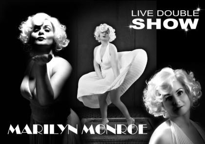 Petra als Marilyn Monroe Double